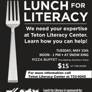 lunch for literacy flyer