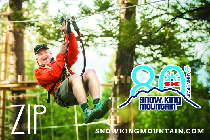 Snow King Mountain – Treetop Adventure