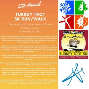 25th Annual Thanksgiving Day Turkey Trot Race