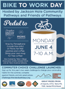 Bike To Work Day At Persephone And Picnic @ Persephone Bakery | Jackson | Wyoming | United States