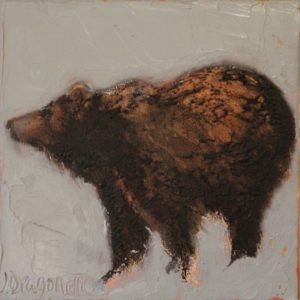 Bear painting by Dragonette