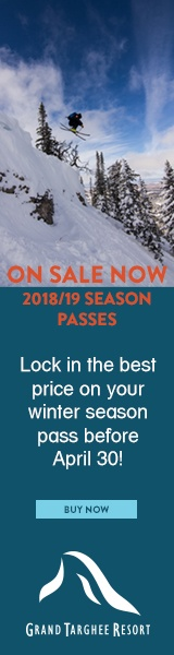 Grand Targhee Resort Season Pass Sidebar ad 2018 may 21