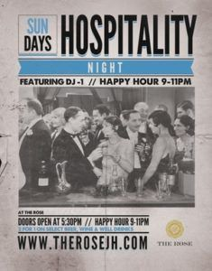 Hospitality Night - Happy Hour @ Pink Garter Theatre | Jackson | Wyoming | United States