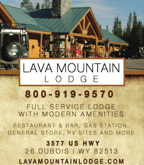 Lava Mountain Lodge Wyoming