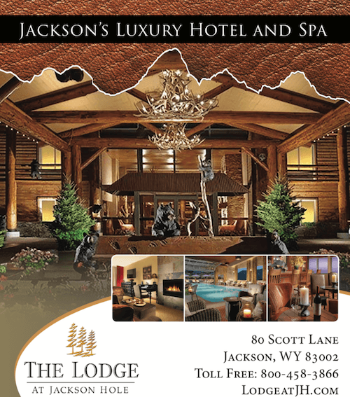 Webcam Sponsor > Town Square Broadway   The Lodge At Jackson Hole