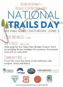 National Trails Day 2018 @ Old Pass Road - Bridger-Teton National Forest | Wilson | Wyoming | United States