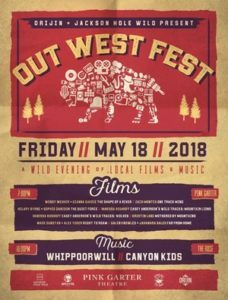 Out West Fest 2018 Poster